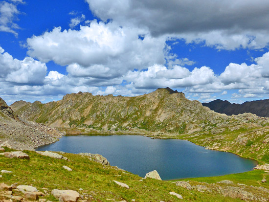 Lost Man Lake (12,482') on the Lost Man Loop